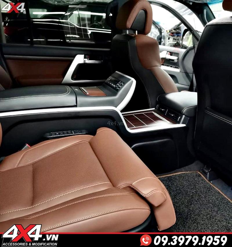 Gói độ nội thất màu nâu đẹp, đẳng cấp từ hãng độ MBS dành cho dòng xe sang Lexus 570 và Toyota Land Cruiser