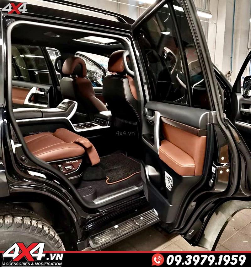 Xe sang Lexus 570 và Toyota Land Cruiser độ gói nội thất MBS sẽ tiện nghi và đẳng cấp hơn rất nhiều