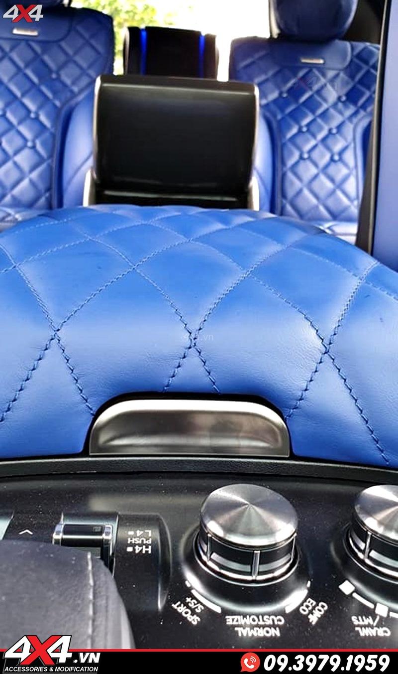 Xe sang Lexus 570 và Toyota Land Cruiser độ đẹp và sang trọng với nội thất MBS chính hãng