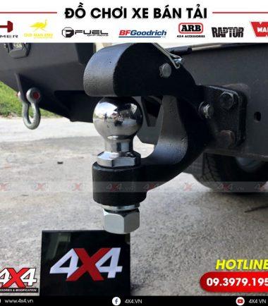 Móc kéo cản sau cực xịn dành cho xe bán tải Ford ranger, Hilux, Bt50,...