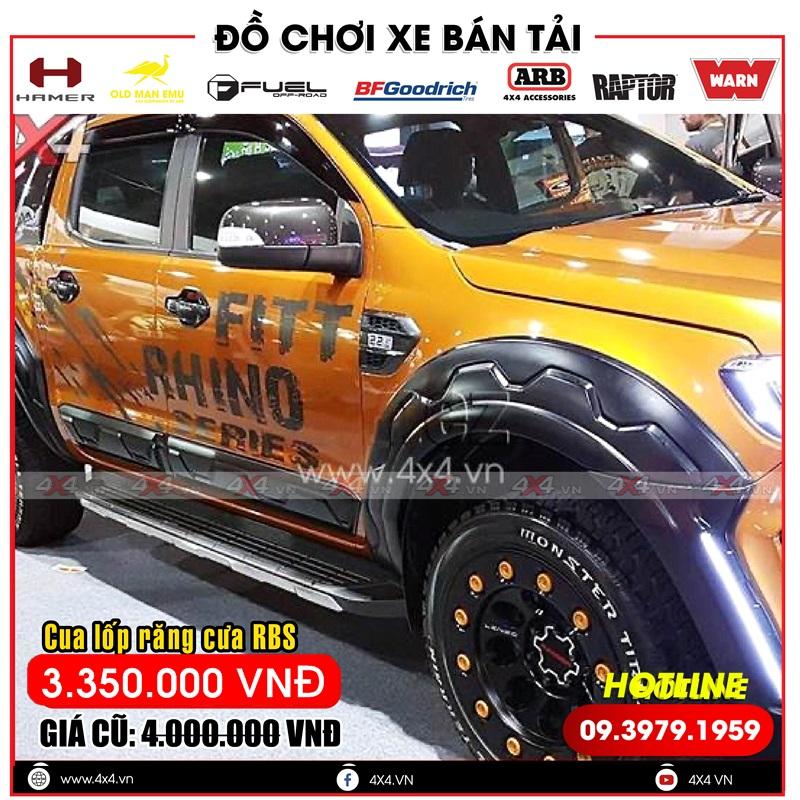 Ốp cua lốp ford ranger: ốp cua lốp răng cưa độ đẹp và hầm dành cho dòng bán tải