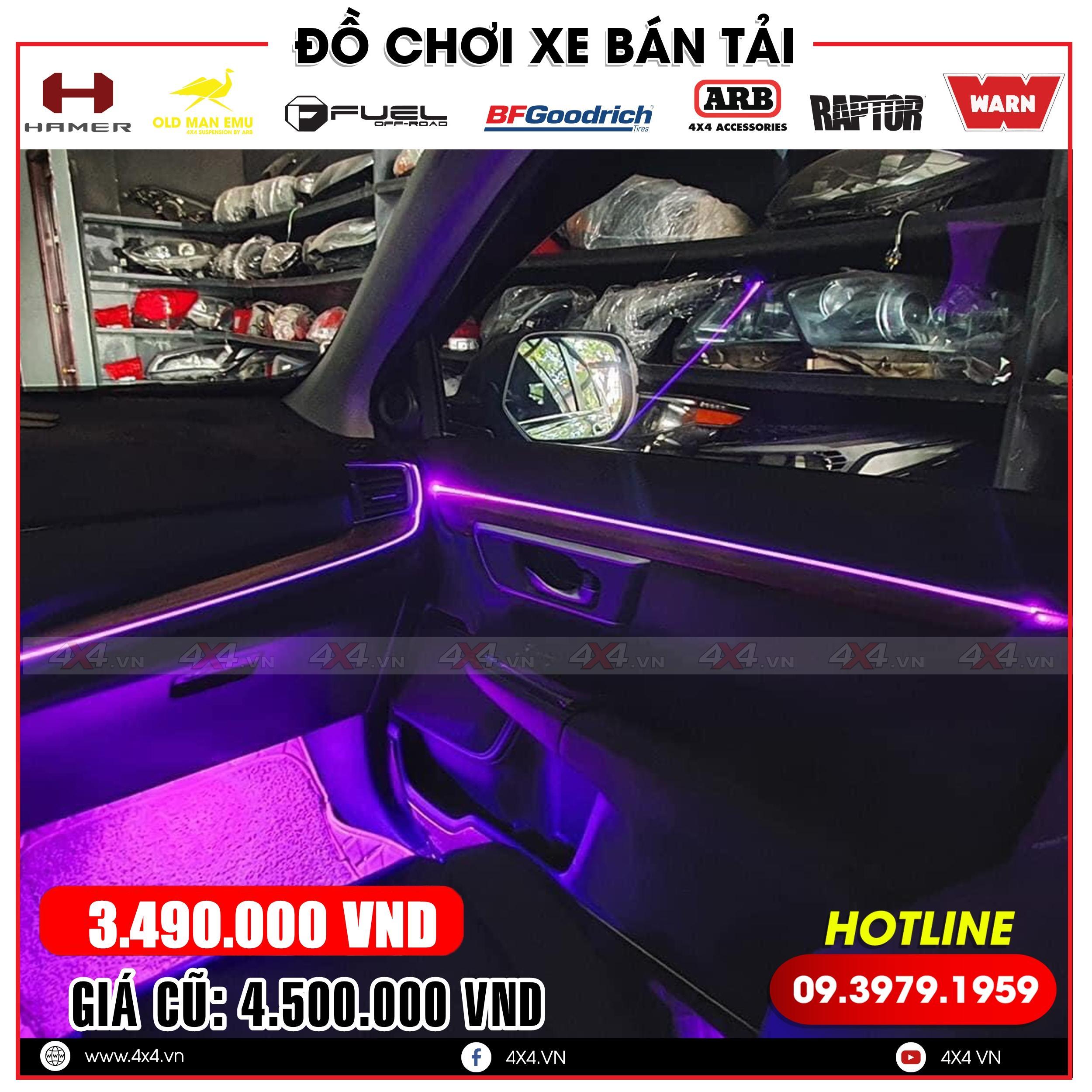 Xe ô tô Hyundai độ viền đèn led nội thất đẹp và đẳng cấp