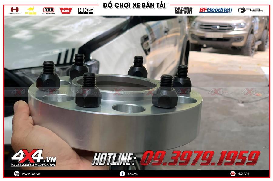 Wheel Spacer mâm loại thường độ xe bán tải Toyota Hilux