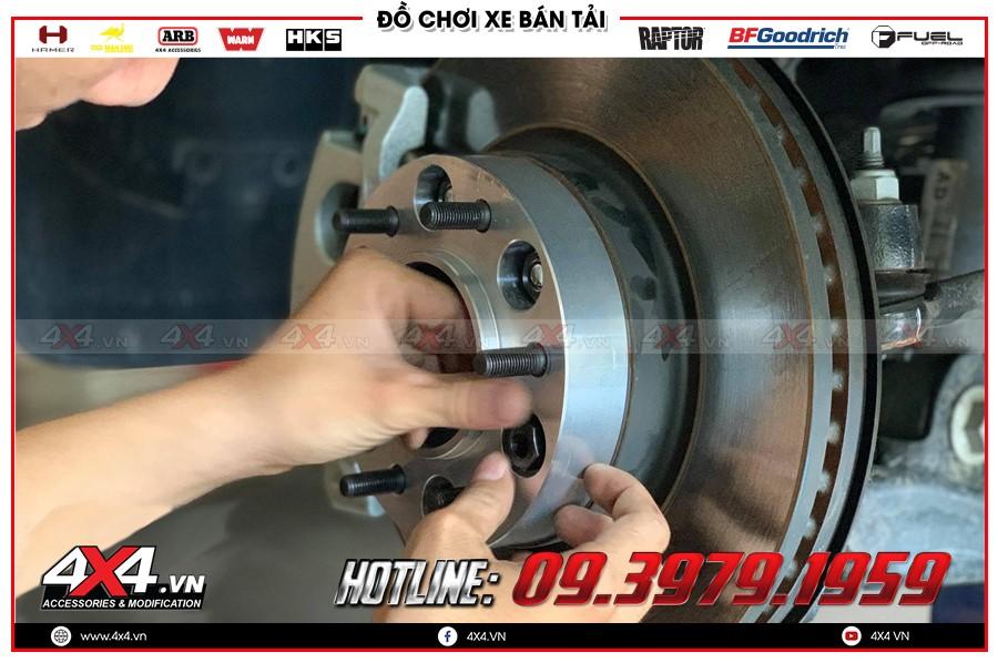 Chuyên bán các trang thiết bị Độ Wheel Spacers isuzu dmax 4x4 2020 giá cực ưu đãi