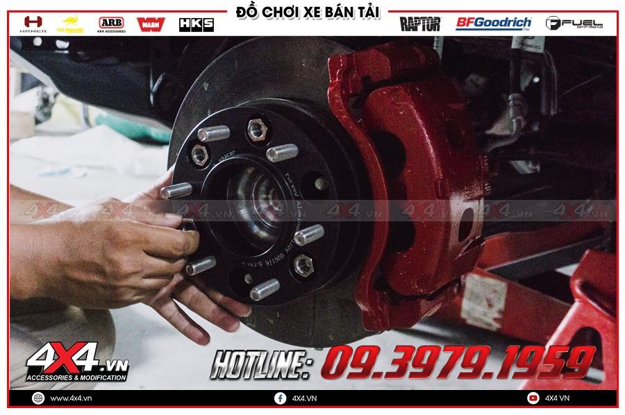 Chuyên cung cấp các trang thiết bị Độ Wheel Spacers Xe bán tải cực cao cấp