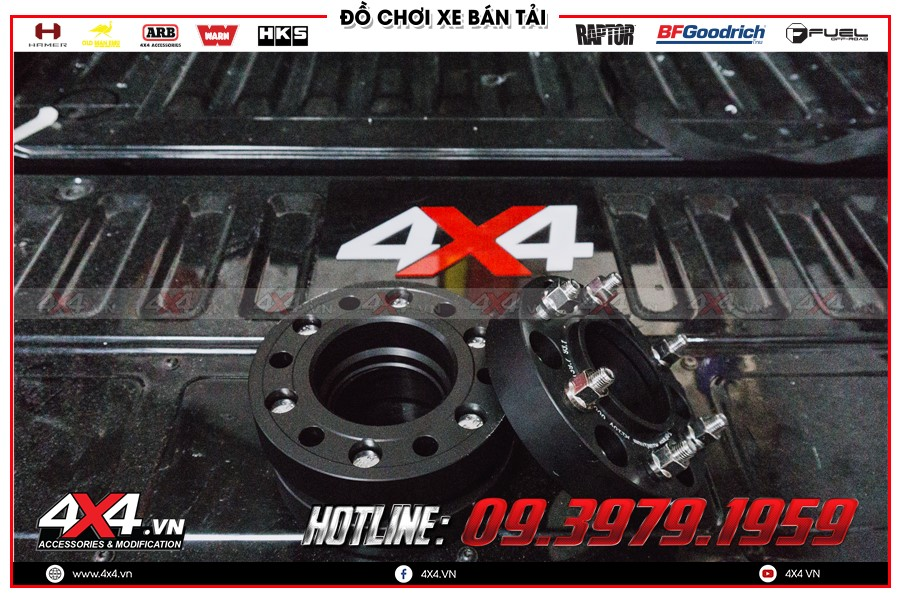 Chuyên bán các trang thiết bị Độ Wheel Spacers toyota hilux 3.0 4x4 cực bền đẹp