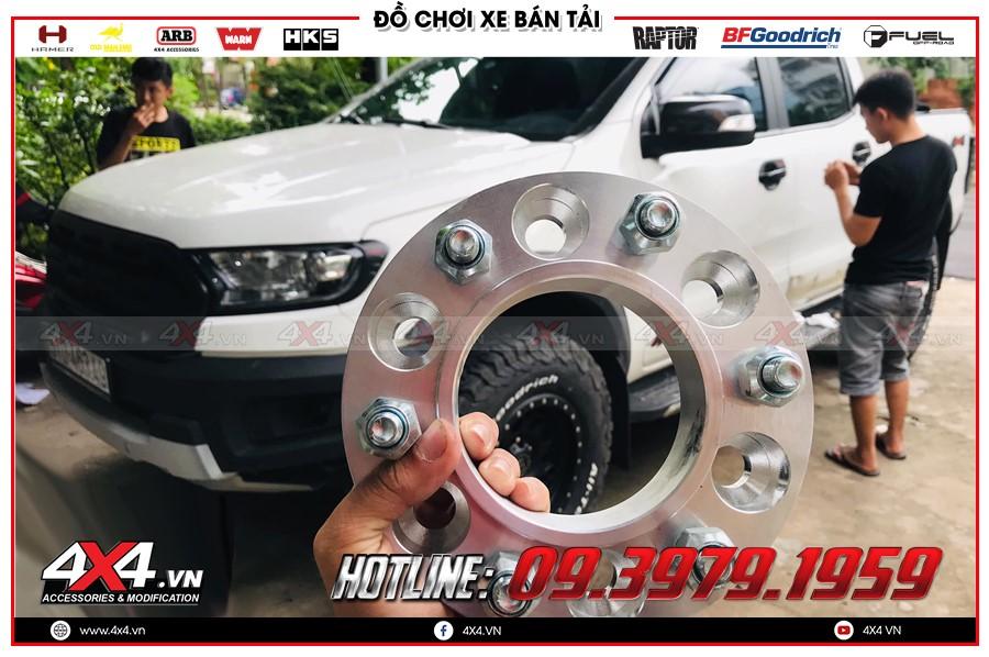 Chỉ dẫn mua Độ Wheel Spacer toyota hilux 1 cầu tại TP Hồ Chí Minh