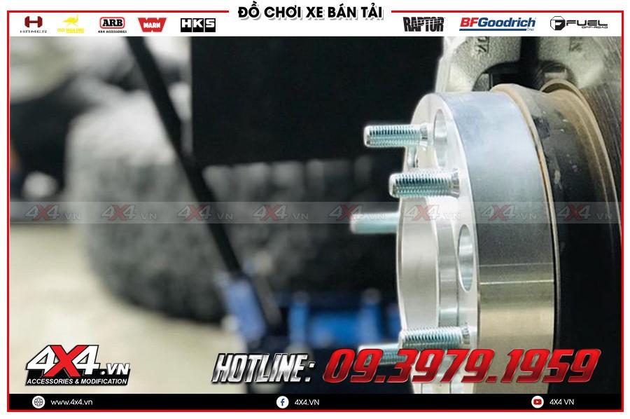 Hướng dẫn mua Độ Wheel Spacers toyota hilux tại HCM