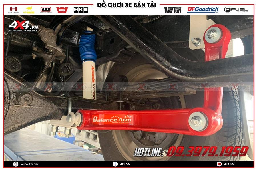 4x4 ra mắt người dùng dòng sản phẩm thanh cân bằng Ford Ranger