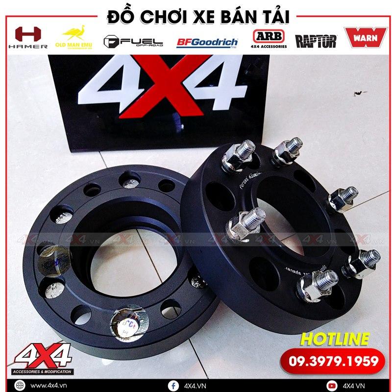 Wheel Spacer độ cho xe bán tải Mazda BT-50 giúp xe bạn thêm ngầu và hầm hố hơn