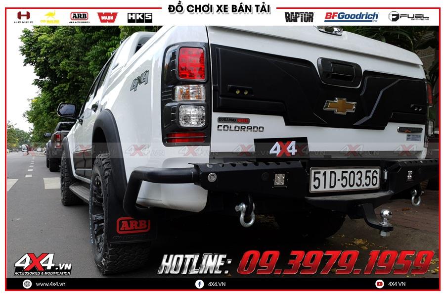 Các cách lắp đặt sản phẩm chắn bùn Chevrolet Colorado đảm bảo
