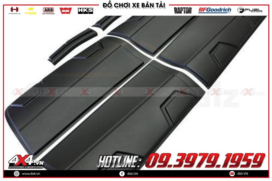 Lắp ốp hông cửa cho xe Mazda BT50 2020 cực ngầu tại 4x4