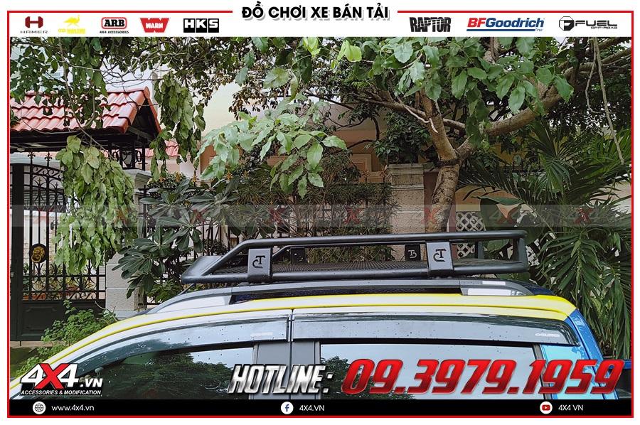 Chuyên độ baga mui dành cho xe Chevrolet Colorado 2020 hàng nhập Thái Lan