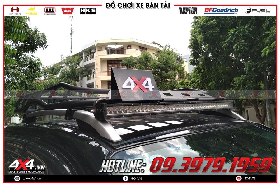 Lắp baga mui dành cho xe bán tải BT50 Colorado Dmax Triton Navara Ford Ranger Hilux tại HCM