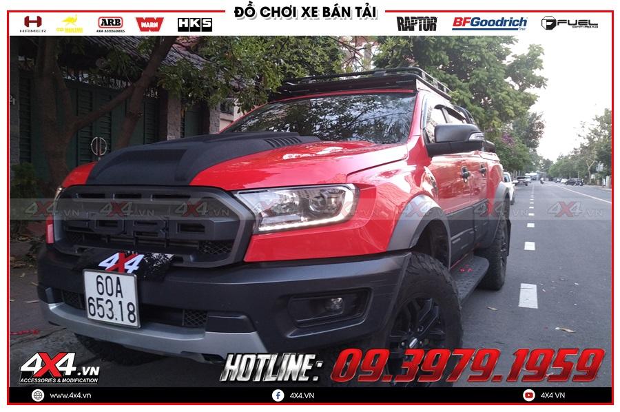 Báo giá ốp nắp capo xe Raptor Raptor cực ngầu ở Hồ Chí Minh