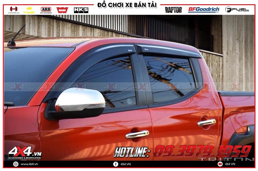 Độ Xe Mitsubishi Triton vè che mưa có lợi ích gì?