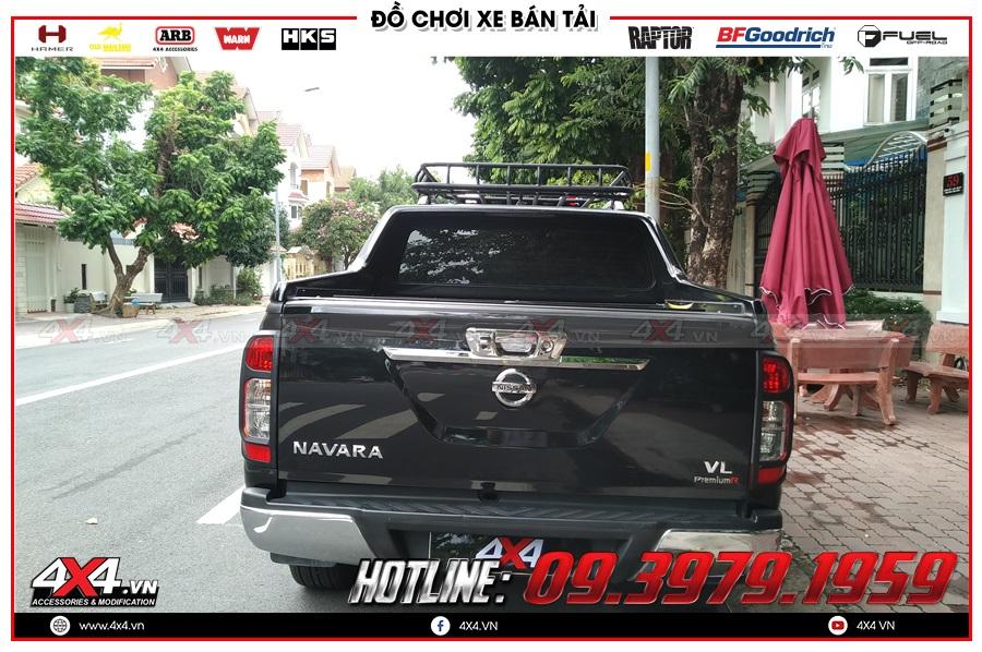 Giá baga mui dành cho xe Nissan Navara 2020 hàng nhập Thái Lan