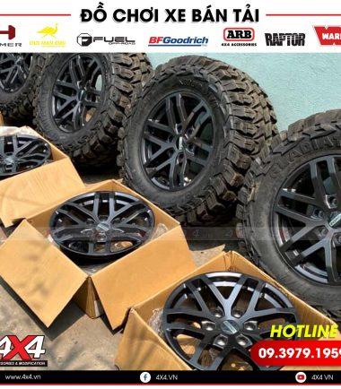 Mâm lốp Raptor độ đẹp và lên đời Raptor dành cho các dòng xe bán tải Ford Ranger XLT, XLS, XL