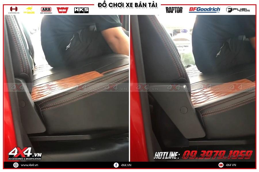 Nên độ ghế chỉnh điện cho xe Mazda BT50 ở đâu?