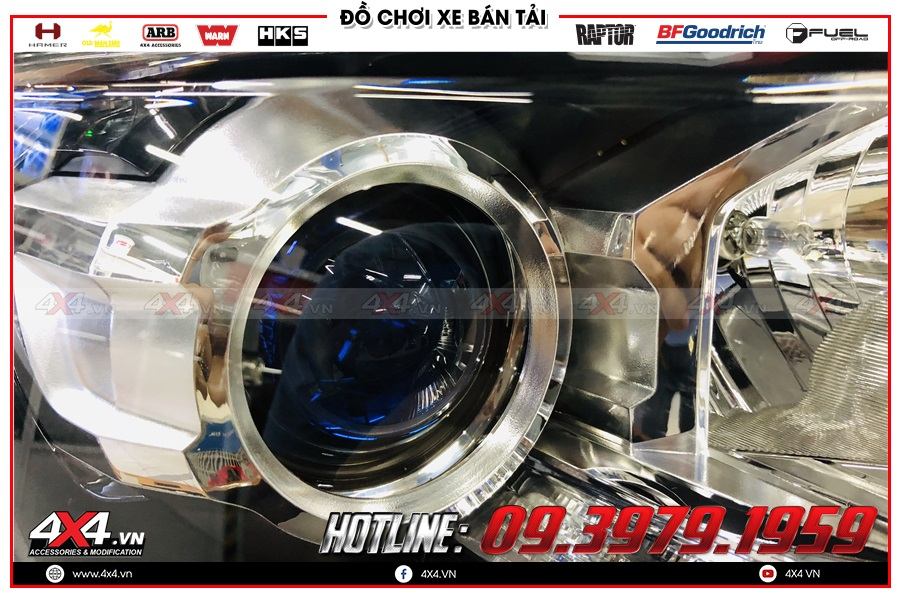 Tăng sáng Bi Led cực tốt cho Mazda BT50