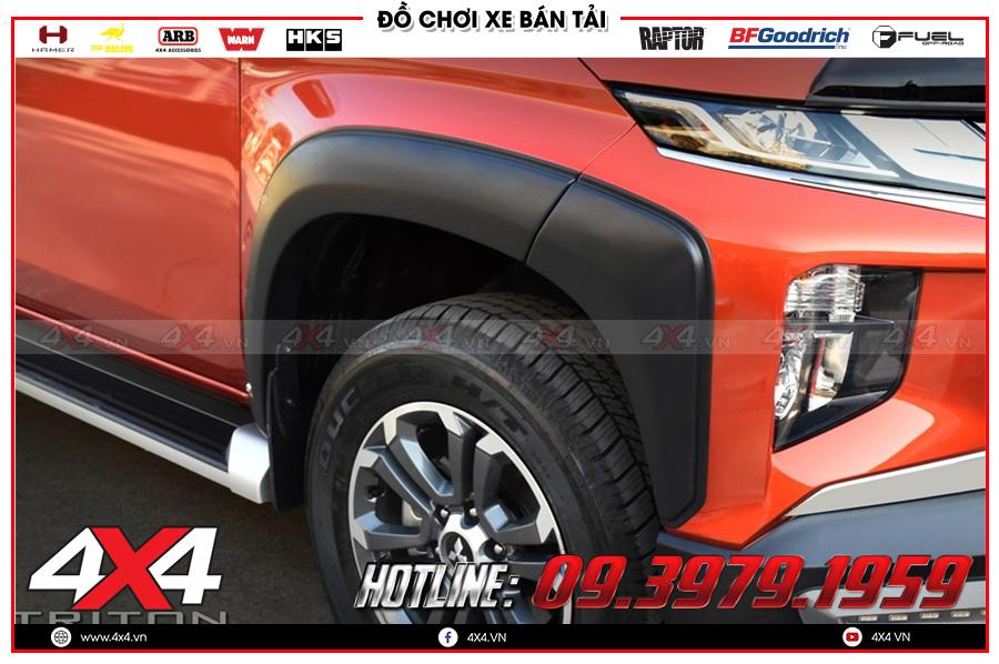 Chuyên gắn ốp cua lốp dành cho xe bán tải hàng nhập Thailand