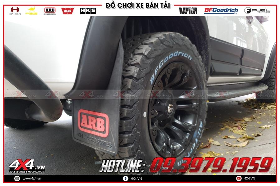 Các cách lắp đặt phụ kiện chắn bùn Mazda BT50 hiệu quả