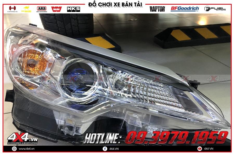 Bi tăng sáng Led độ cực ngầu cho Toyota Hilux