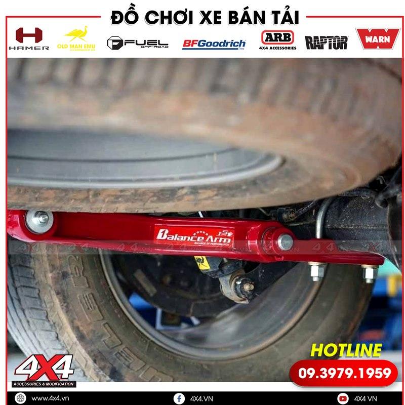Thanh cân bằng Balance Arm giúp cân bằng xe bán tải Mitsubishi Triton cực tốt khi đi qua ổ gà,...
