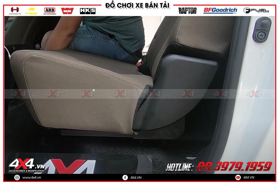 Những điều cần biết về độ ghế chỉnh điện cho xe Toyota Hilux tại HCM