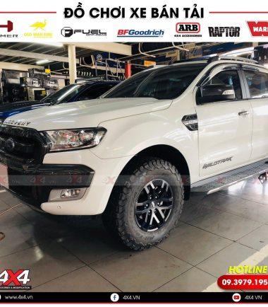 Xe bán tải Ford Ranger Willdtrak độ mâm lốp Raptor cực đẹp và đẳng cấp