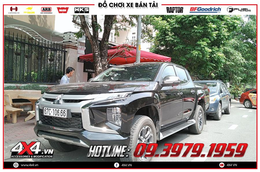 Hỏi về giá của bậc lên xuống Xe Mitsubishi Triton độ cực chất