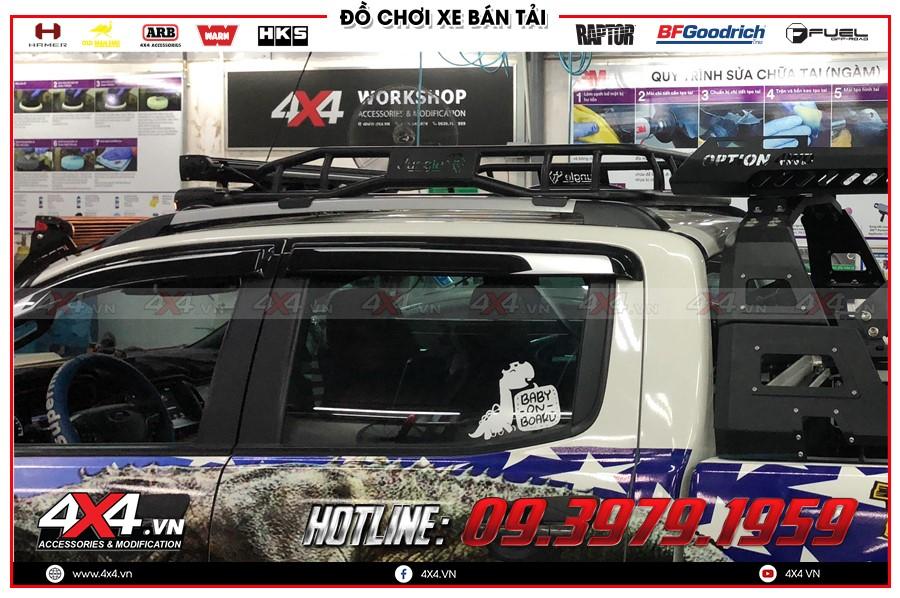 Tư vấn thay baga mui dành cho ford ranger raptor xe hay sao cho chất tại 4x4