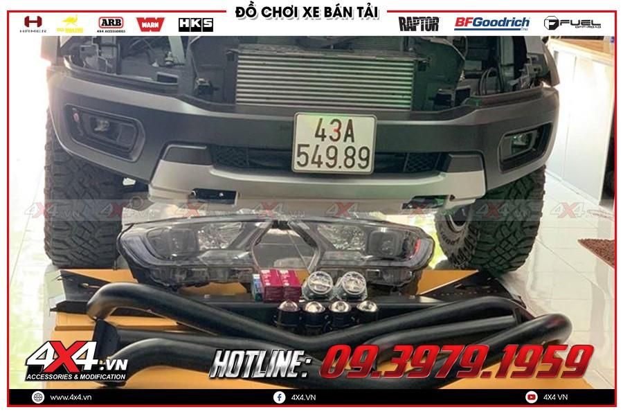 Lắp đặt Isuzu Dmax Độ bi LED lên chóa Zin được ưa chuộng nhất