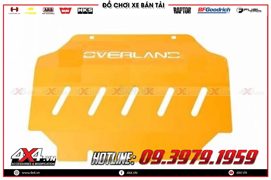 Giáp gầm xe Chevrolet Colorado mua tại đâu rẻ nhất?