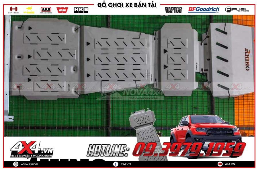 Giáp gầm xe Ford Ranger cực chất tại Garage 4x4 Sài Gòn
