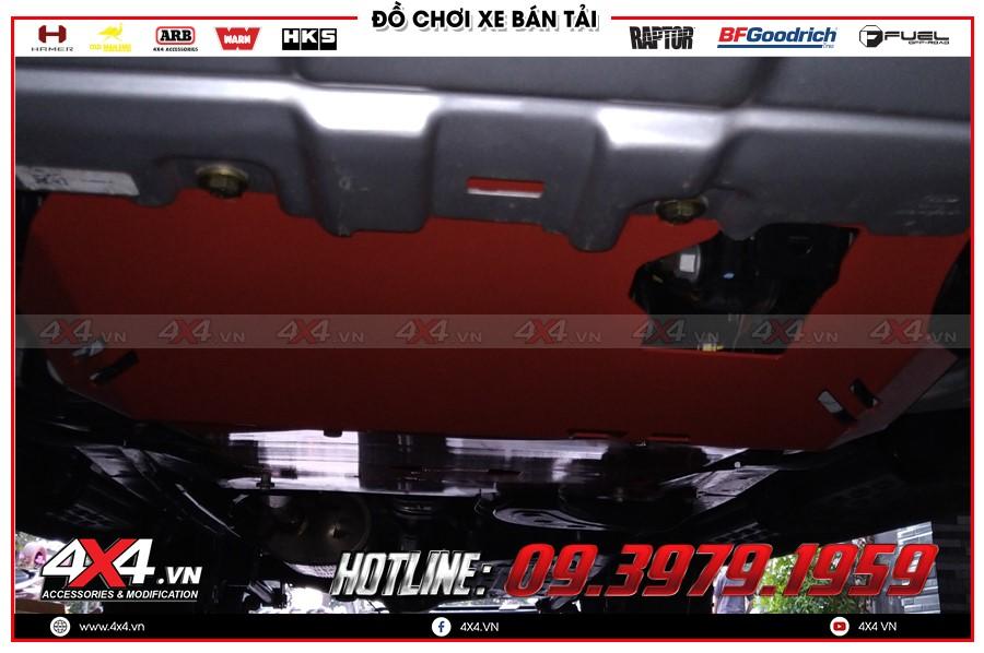 Giáp gầm xe Mazda BT50 cực tốt tại Xưởng độ 4x4 Sài Gòn