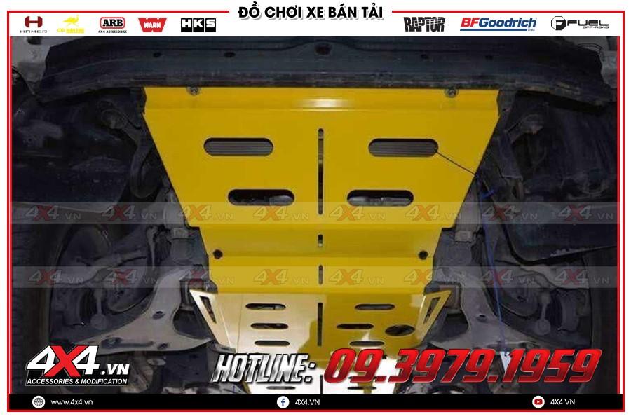 Giáp gầm xe Misubishi Triton cực tốt tại Workshop 4x4 TPHCM