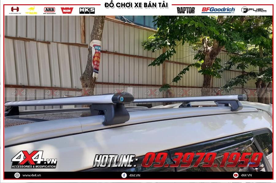 Độ gá nóc xe isuzu dmax 2011 siêu chất lượng tại Shop 4x4 TP Hồ Chí Minh