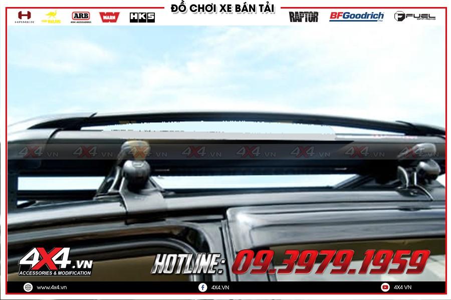 Thay thanh giá nóc toyota hilux 4x2 at 2020 cực ngầu tại Garage 4x4 Sài Gòn