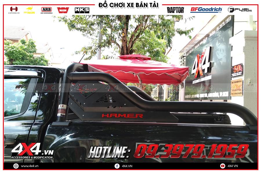 Thanh thể thao Hamer là mẫu thanh thể thao độ đẳng cấp và ngầu dành cho xe bán tải Mitsubishi Triton