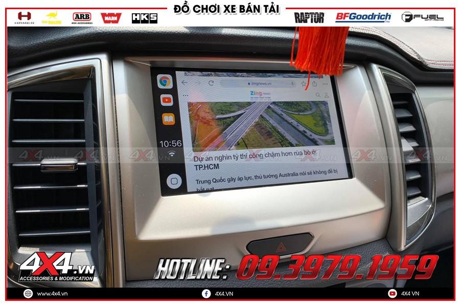 Nâng cấp SYN 3 xe ranger raptor 2018 giá ưu đãi nhất tại Sài Gòn