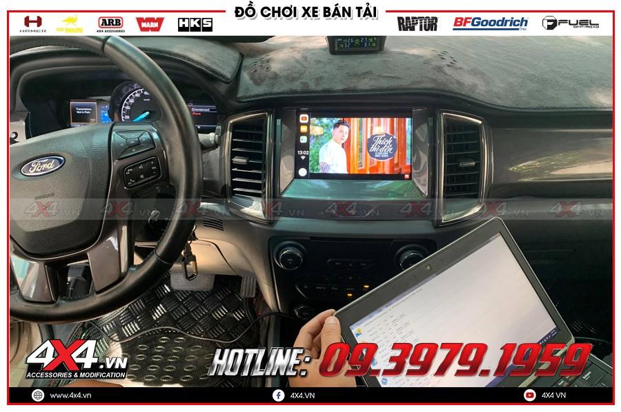 Update Syn 3.4 ford ranger thế hệ mới siêu Đỉnh ở Garage 4x4 Sài Gòn