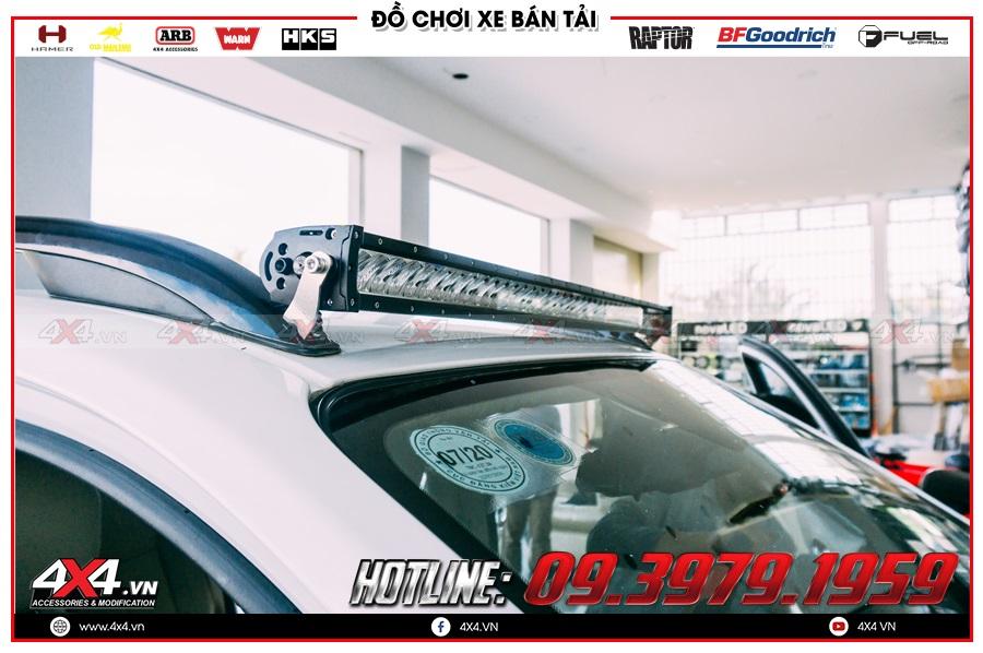 Địa chỉ Đèn led bar trợ sáng xe Nissan Navara cực chuẩn