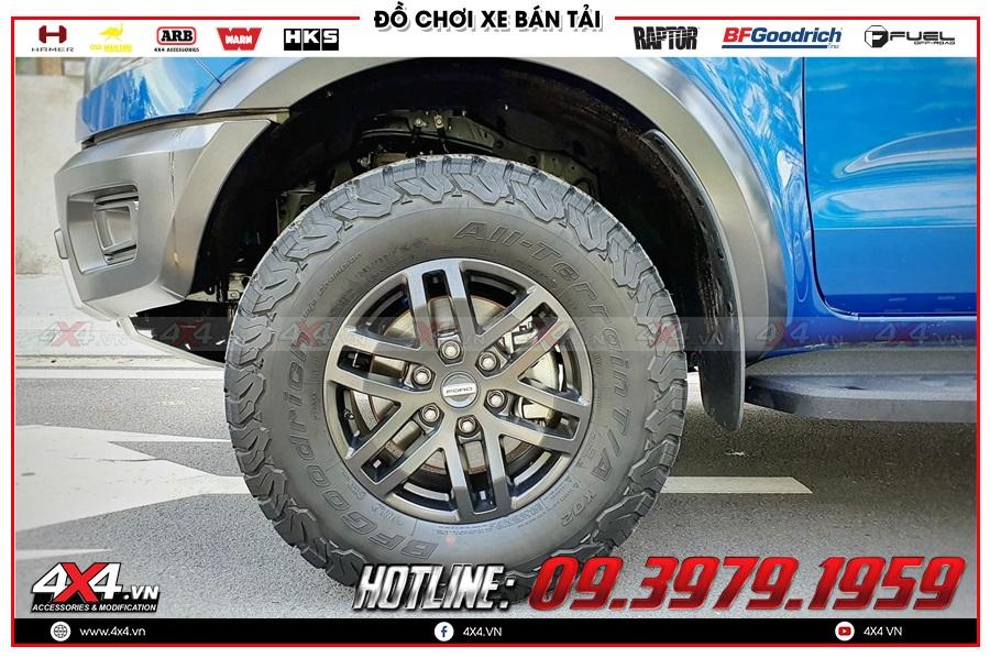 Báo giá mâm lốp Ranger Raptor độ cho Ford Ranger giá rẻ ở TP.HCM