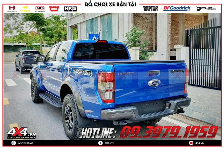 Gắn mâm Fuel cho xe Ford Ranger cực đỉnh tại 4x4
