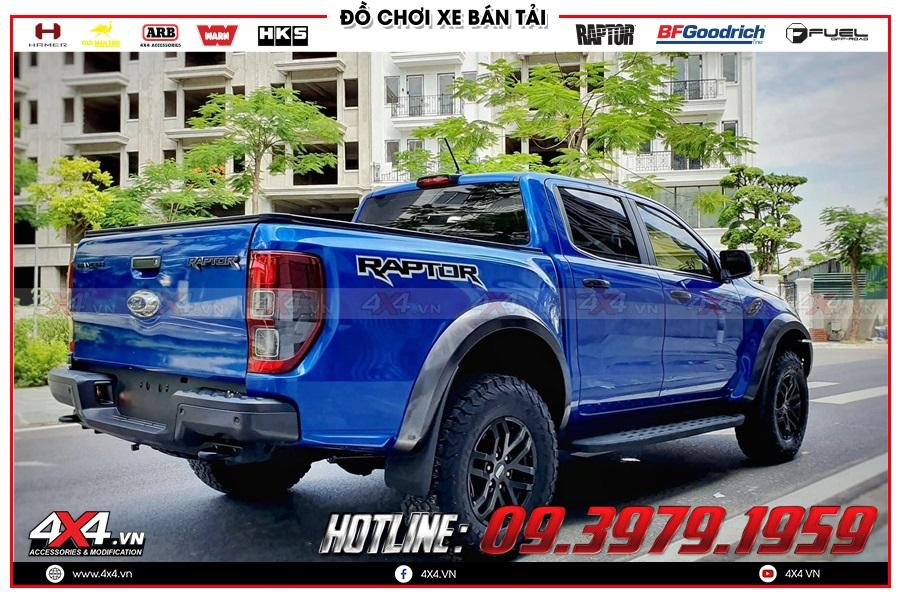 Lựa chọn mâm lốp Ranger Raptor độ cho Ford Ranger giá tốt tại Sài Gòn