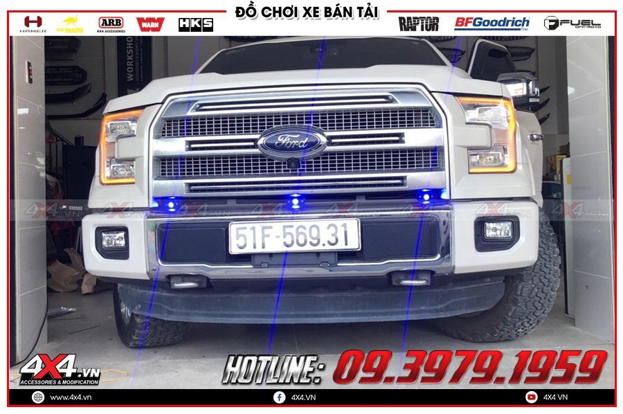 Đèn định vị mặt nạ xe Ford Ranger phong cách mới 2020