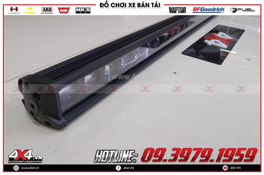 Gắn đèn led bar xe Mazda BT50 giá rẻ chất lượng tốt tại TP.HCM