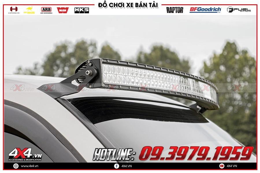Độ đèn led bar trợ sáng dành cho xe Mitsubishi Triton giá như thế nào?