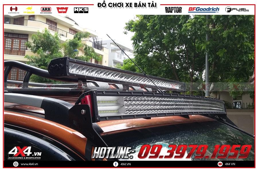 Khuyến mại Đèn led bar trợ sáng Mitsubishi Triton bán tải giá tốt nhất